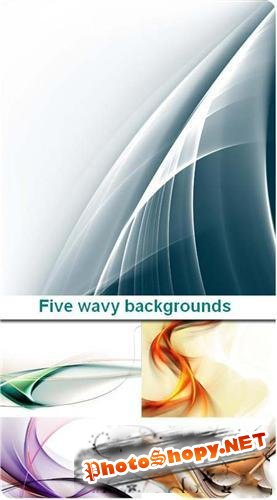 Five wavy backgrounds (���� ��������� �����)