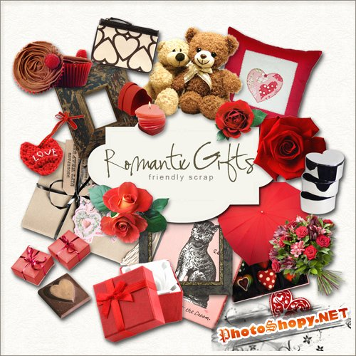 Scrap-kit - Romantic Gifts