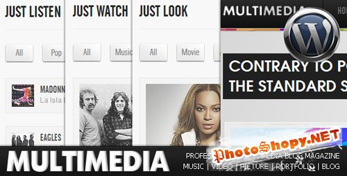 Multimedia - Music, Video, Picture - ThemeForest