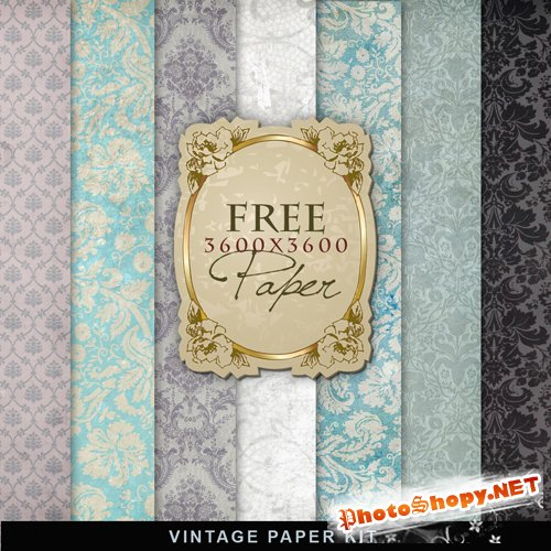 Textures - Old Vintage Backgrounds #36