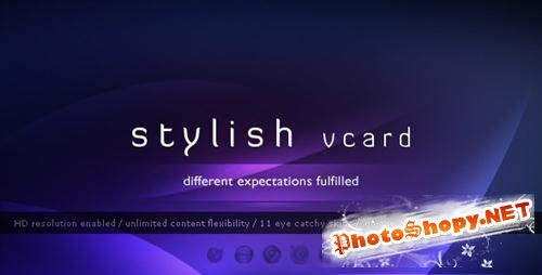 ThemeForest - Stylish Vcard - 11 Modern Skins (With Fixed Portfolio & Working Twitter Feed) - Rip