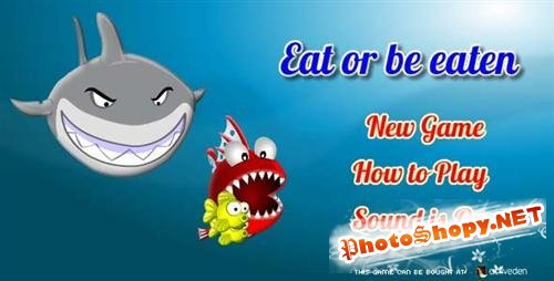 ActiveDen - Flash - The Fish Game - Eat or Be Eaten - Rip