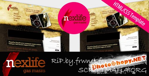 "TemplateWorld - Grunge Template ""NextLife"" - RiP"