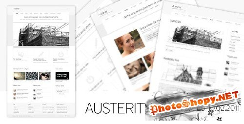Austerity - Themeforest Premium Wordpress Theme