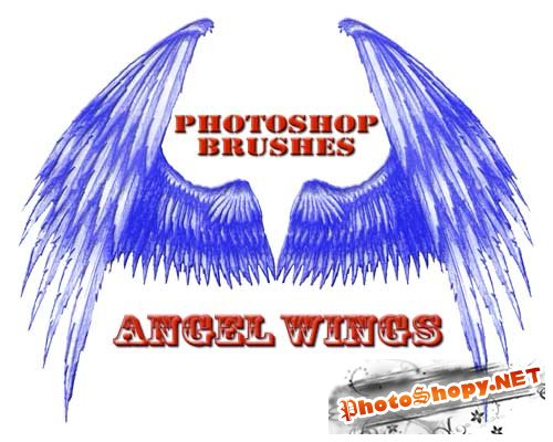 "Brushes for Photoshop ""Angel Wings"""