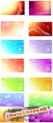 Collections Vector Baners Backgrounds Vol.1