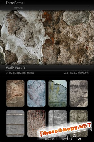 Walls HQ Textures Pack 01
