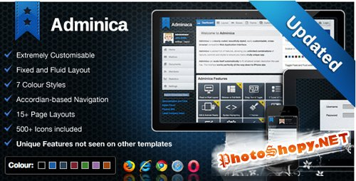 Adminica - ThemeForest Professional Admin Template