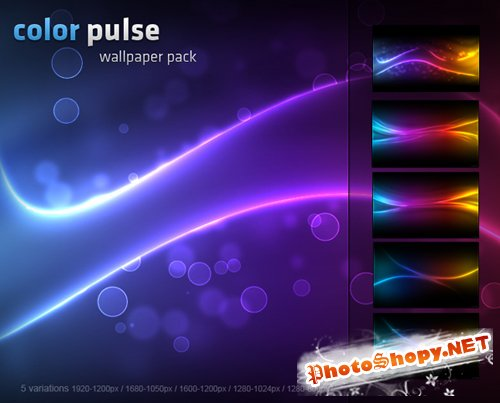 Color Pulse Wallpapers Pack