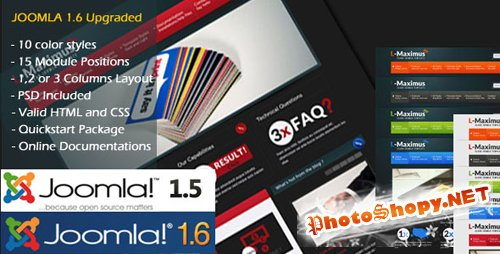 L-Maximus - ThemeForest Joomla Theme