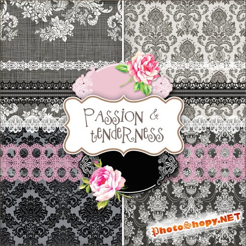 Scrap-set - Passion & Tenderness