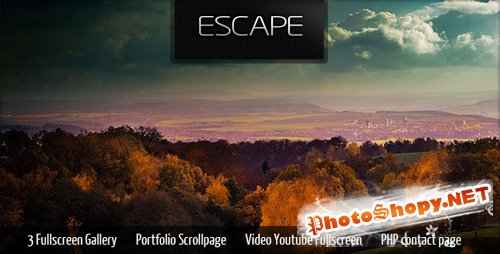 ThemeForest Escape Portfolio Gallery -Rip