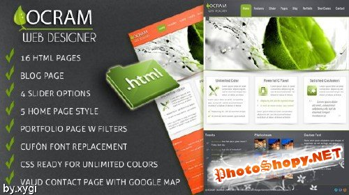 MojoThemes - Ocram – Business HTML Theme - RIP