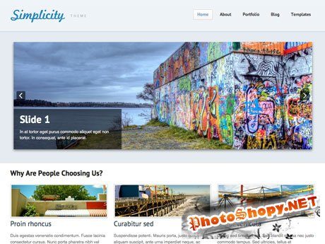 Woothemes Simplicity v1.4.2 for WordPress 3.x