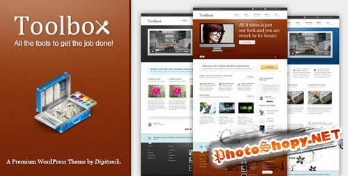 Themeforest Toolbox Premium Corporate & Portfolio Theme