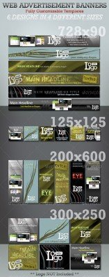 Web Advertisement Banner Templates - Megapack