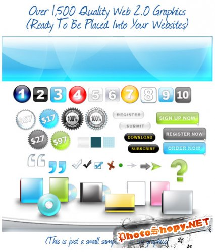 Web 2.0 Graphics Pack