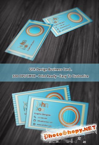 GFX-Design - PSD Business Cards