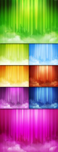 Abstract Linear Backgrounds #1
