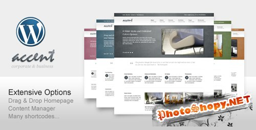 ThemeForest - Accent Theme v1.2 for Wordpress 3.x