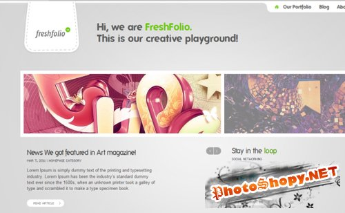 ThemeFuse Freshfolio Developer Theme v1.0.6 for Wordpress v3.x