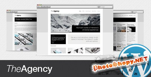 The Agency 1.2.2 - ThemeForest WordPress Theme
