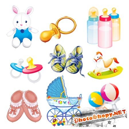 Игрушки малышей | Baby toys (PNG clipart)