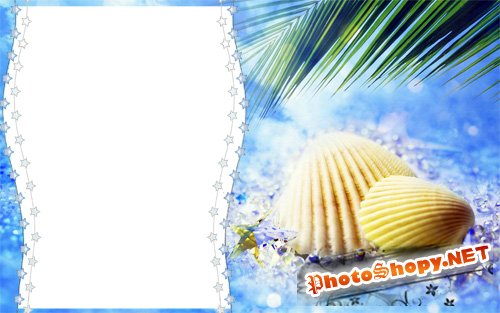Отпуск летом | Summer Holliday (PSD frames)