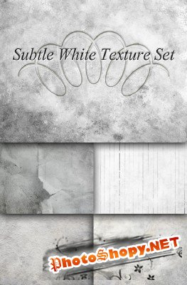 Subtle White Texture Set