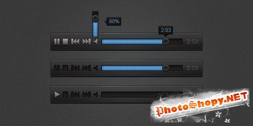 Audio Player PSD Sources