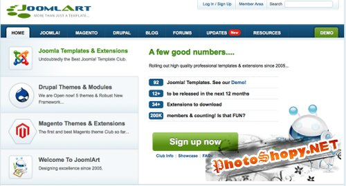 All Joomlart Template updates June and July 2011 RETAIL