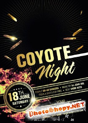 River Coyote Night Flyer