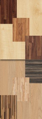 A set of wooden texture