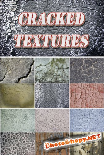 Cracked textures Collection