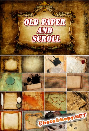 Old paper and Scroll Collections