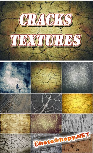 Cracks Textures Collection