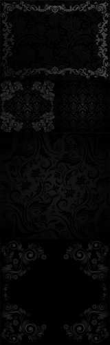 Black Pattern Backgrounds #1