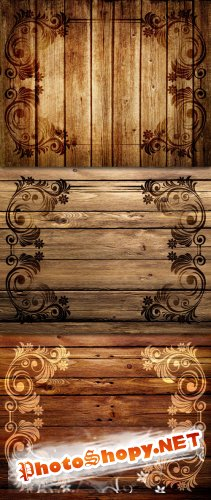 Wood Pattern Backgrounds #1