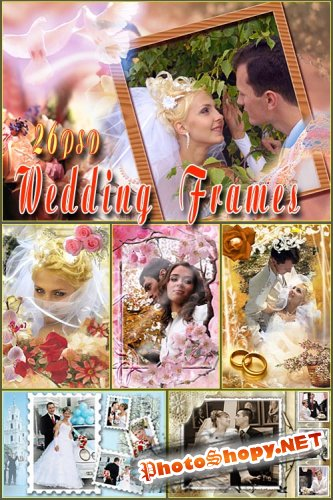 Wedding Frames Collection v.1