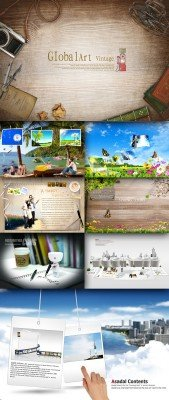 Collection source PSD Pack # 13