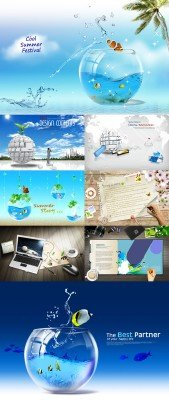 Collection source PSD Pack # 14
