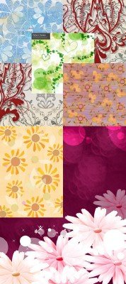 Flower backgrounds pack 4
