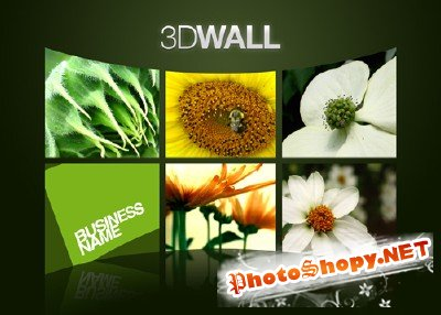 GraphicRiver - 3D Wall