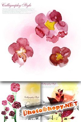Flower backgrounds pack 7
