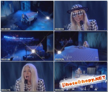 Lady Gaga - You and I (Live The View 01.08.2011)