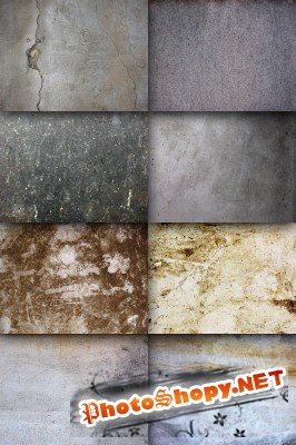 A set of wall texture