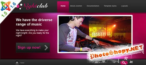 VTEM NightClub Template J1.5 & J1.6