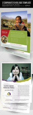 GraphicRiver - 2 Corporate-Style Flyer/Ads Templates
