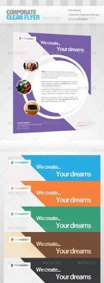 GraphicRiver - Corporate Clean Flyer