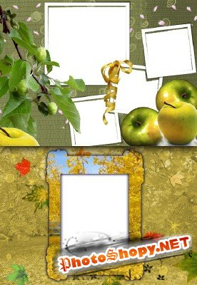 Photo Frame - Ripe apples